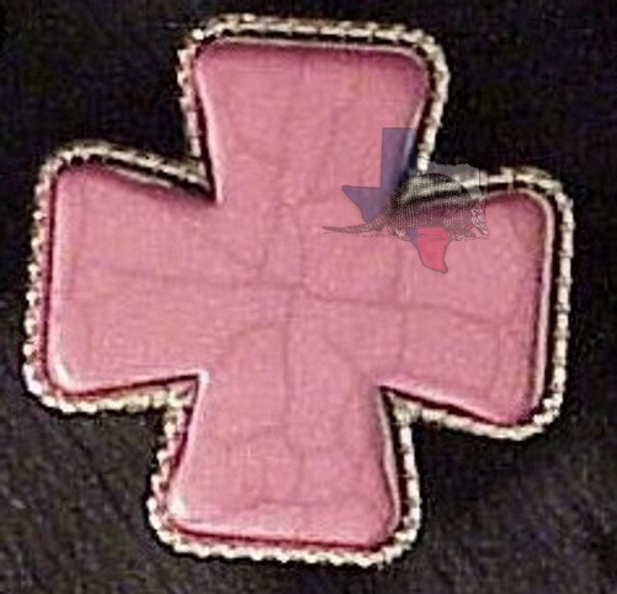 Bling Stone Cross Fuschia Conchos