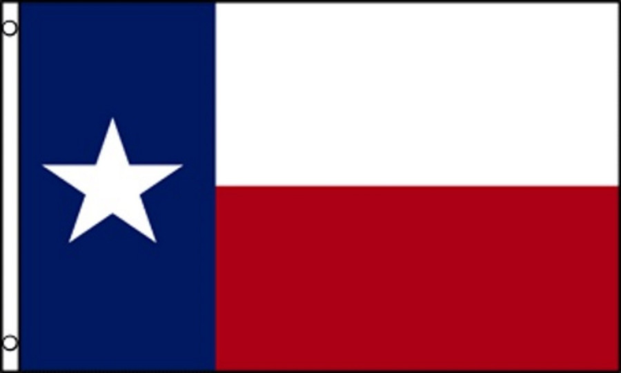 THE STATE OF TEXAS-REPUBLIC OF TEXAS FLAG