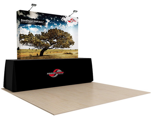 OneFabric 8ft Straight Tabletop Pop up Display