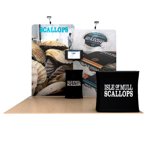 Waveline 10ft Straight Wall Scallop Kit A