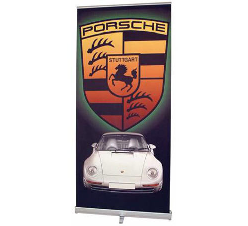 MediaScreen 1 Retractable Fabric Banner