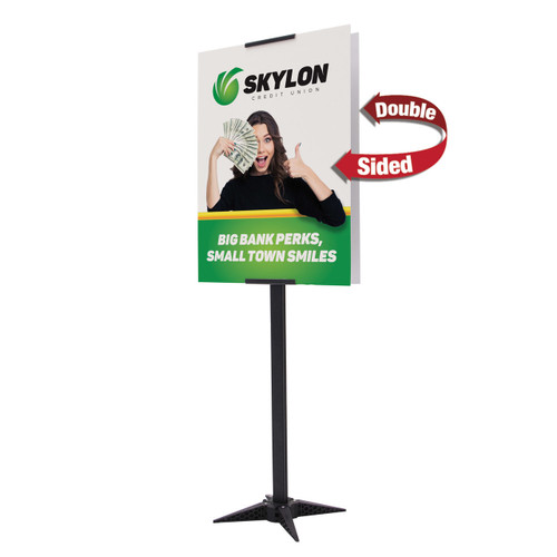 "24"" x 32"" Base-X Sign Kit (Double-Sided) (263134)"