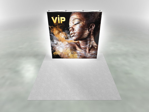 8ft X1s 3x3 Backlit Double Sided Display