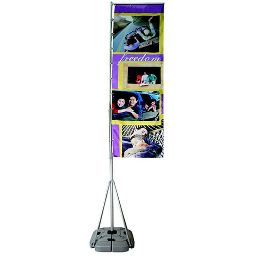 Rally Banner Flag Outdoor Banner Stand