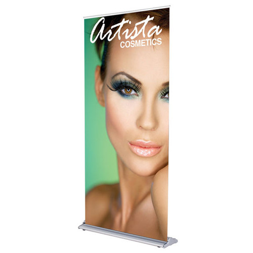 """36"""" GoldStep Retractable Banner Stand"""