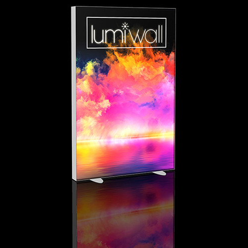 LumiWall 4' x 6' LED Backlit Printed Fabric Display