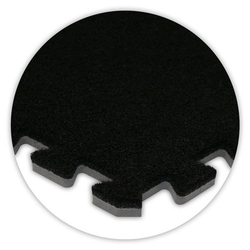 Soft Carpet Black Flooring
