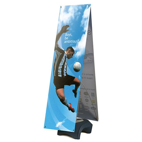 """Outdoor banner stand Double Sided 24"""" x 60"""" Vinyl Graphic"""