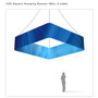 Square Hanging Banner 12ft - 48in with Outside Graphic