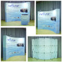 8ft OneFabric Curved Pop Up Display