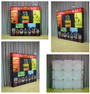 8ft OneFabric Straight Wall Pop up Display