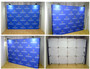 10ft OneFabric Straight Wall Pop up Display