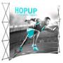 10ft Hop up Fabric Pop up Display