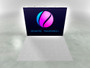 10ft X1s 4x3 Double Sided Backlit Display