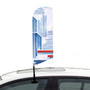 Car Club Window Flags Single Sided Printed