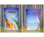 "Brandcusi Fabric Counter 39""- Podium with Graphic"