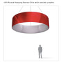 Round Hanging Banner 15ft - 36in with Outside Graphic
