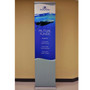 """24"""" Retractable Banner Stand 24"""" with 96"""" Banner"""
