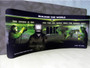 20ft Waveline Curved Double Sided Fabric Display