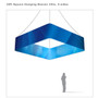 Square Hanging Banner 10ft - 24in with Outside Graphic