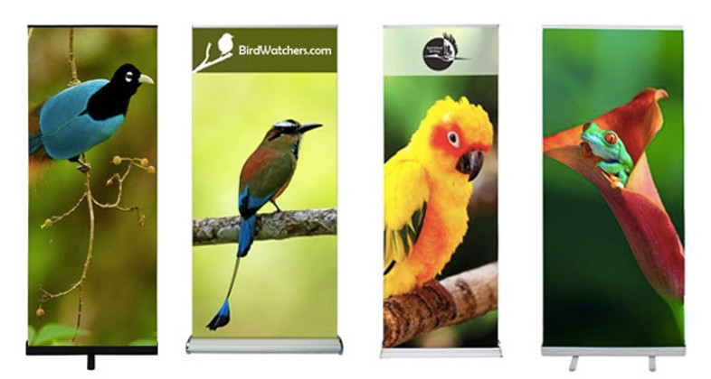 Retractable Banner Stands by YouHUGE.com