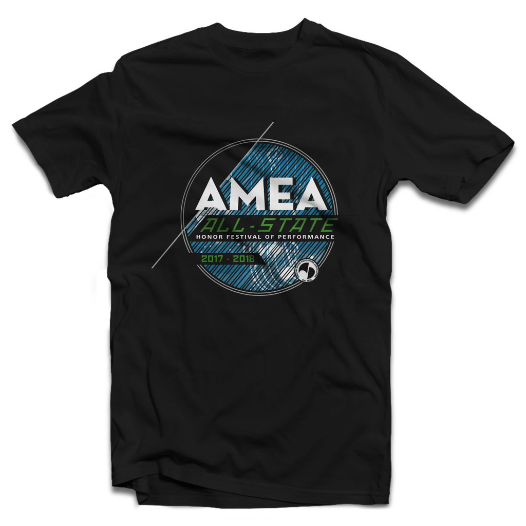 2018 AMEA All-State Festival Event T-Shirt