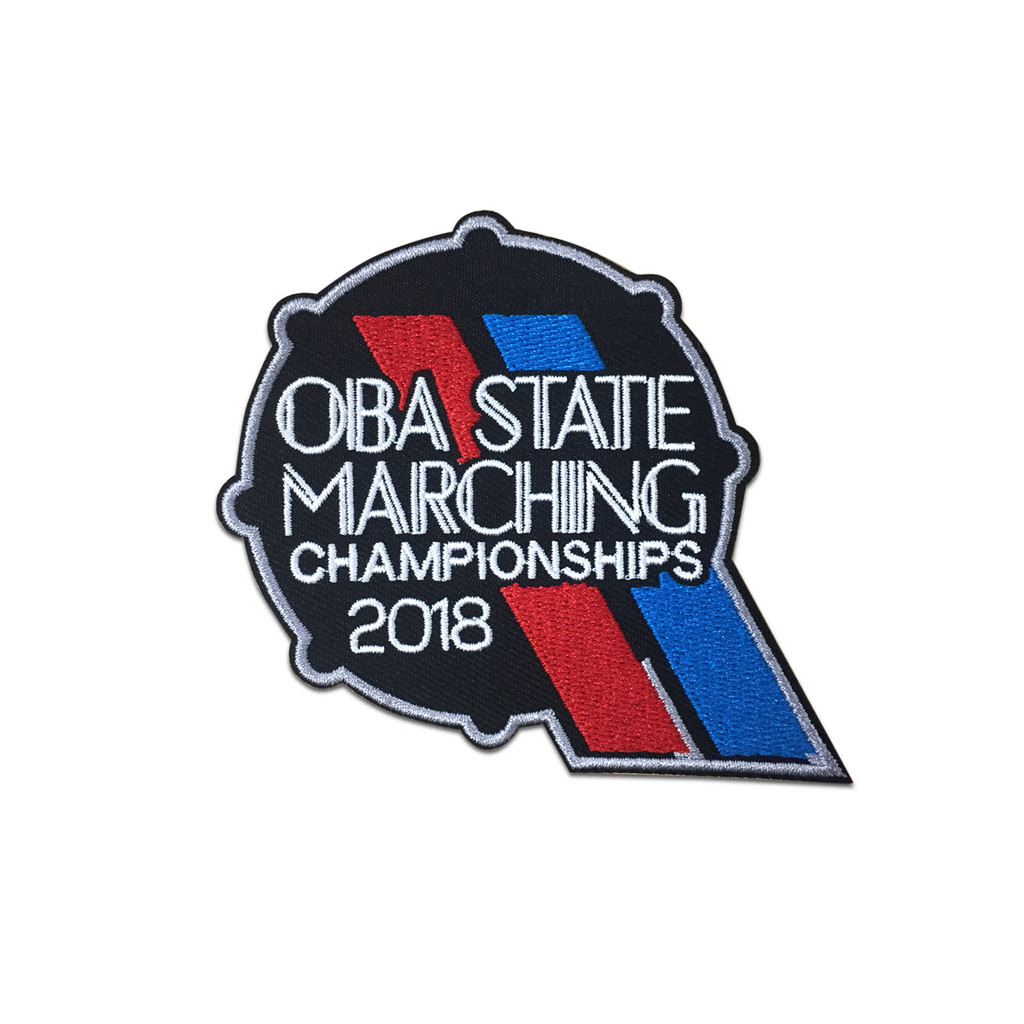 2018 OBA State Marching Band Championships Event Patch