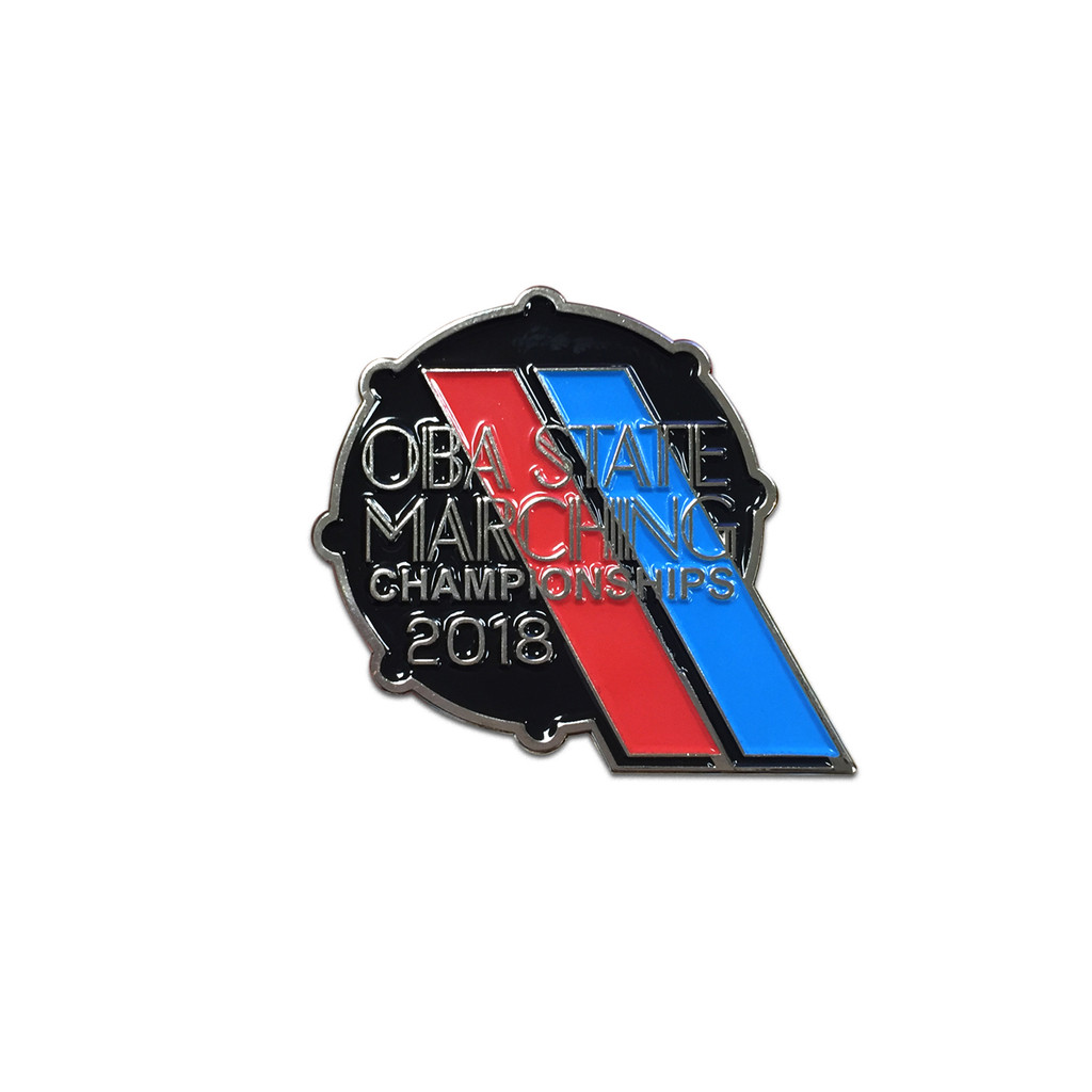 2018 OBA State Marching Band Championships Event Pin