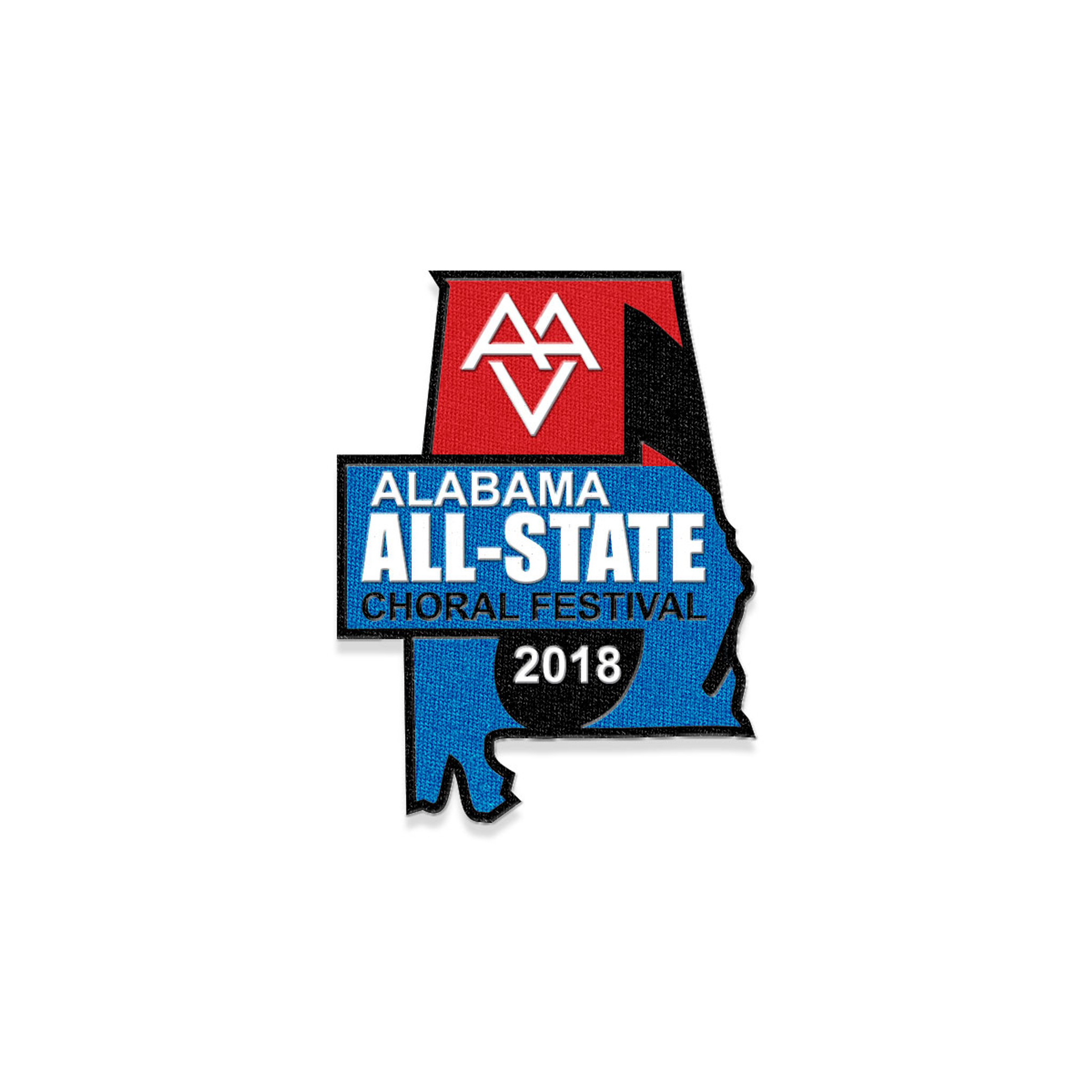2018 AVA All-State Choral Festival Patch