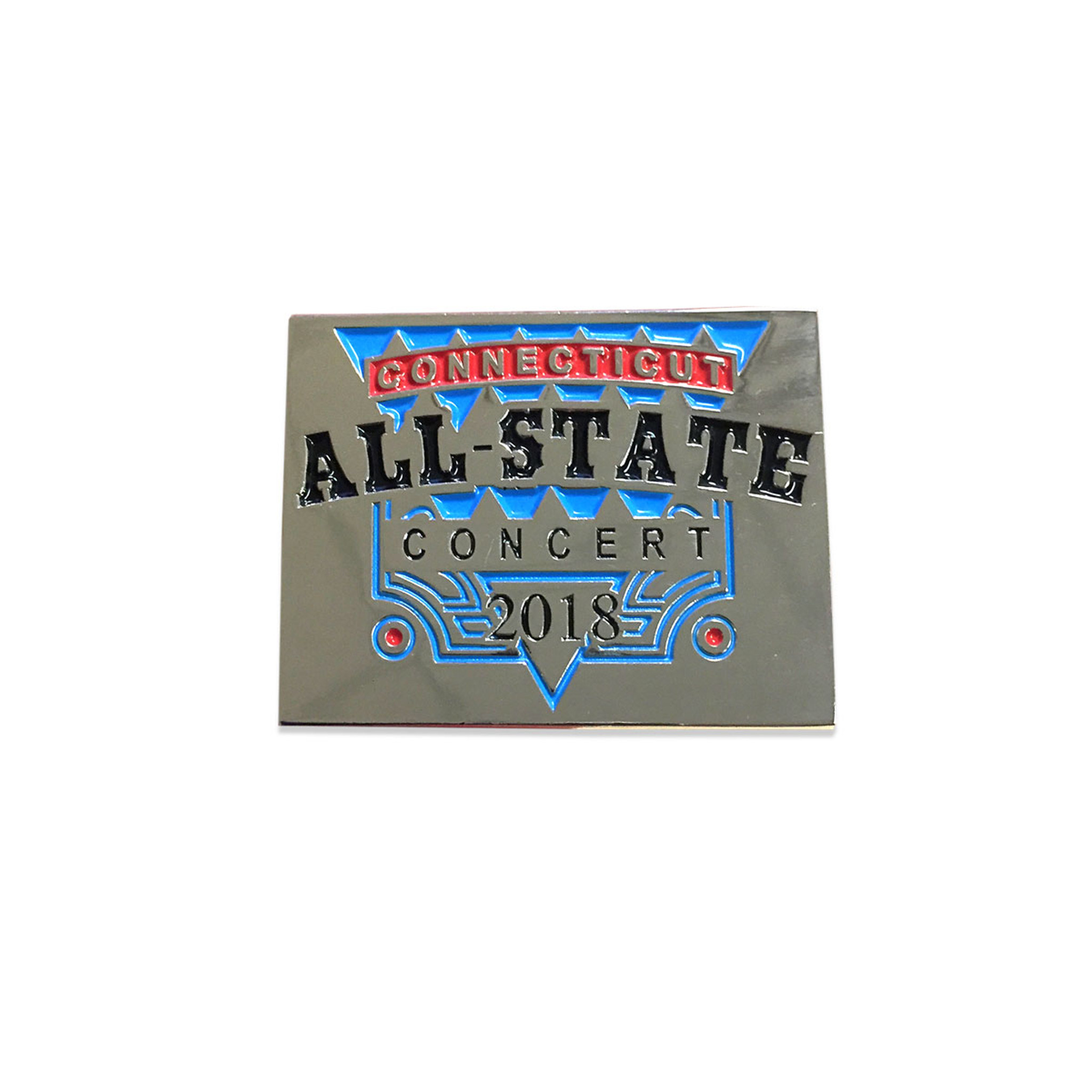 2018 Connecticut All-State Concert Pin