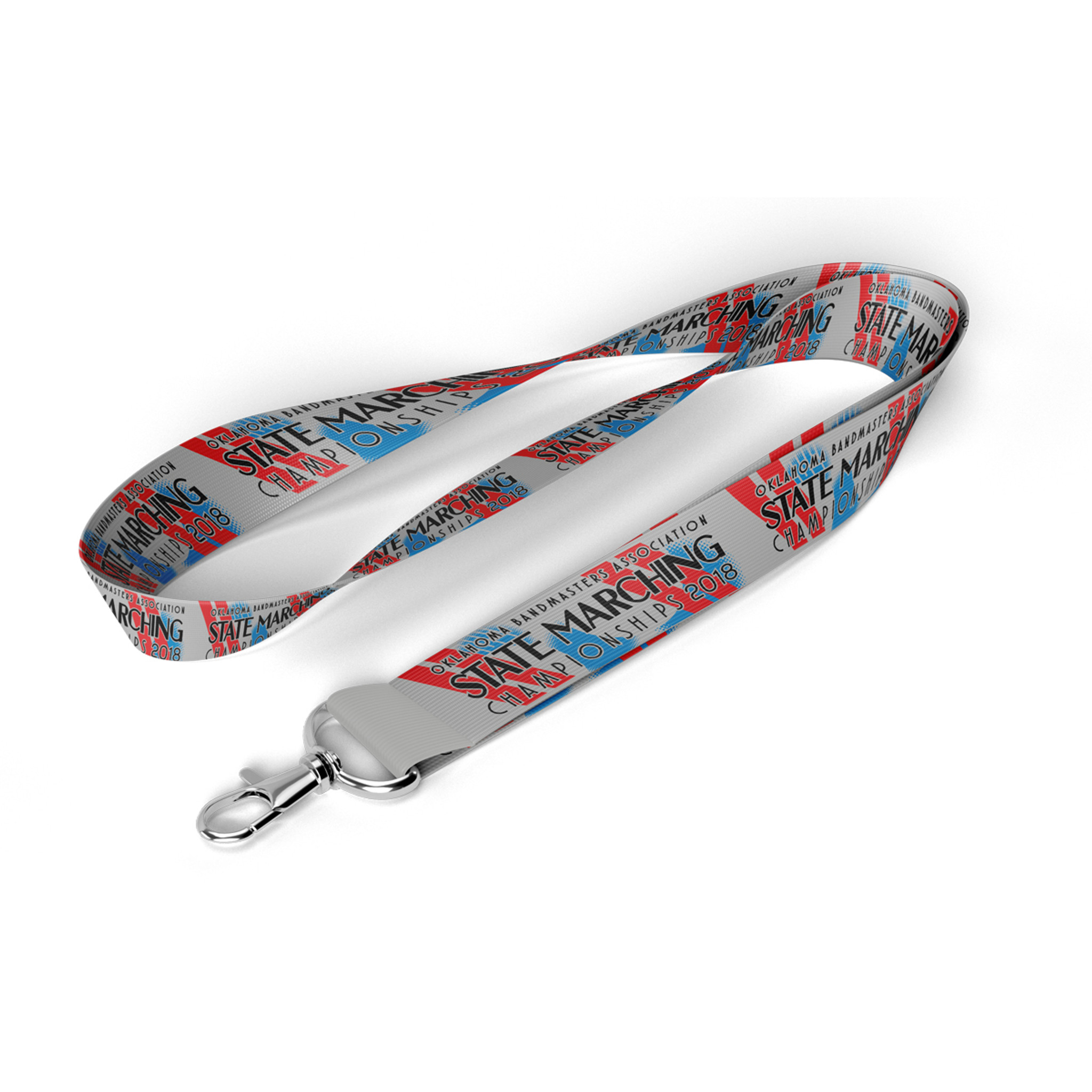 2018 OBA State Marching Band Championships Event Lanyard