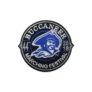 2018 Buccaneer Marching Festival Event Patch
