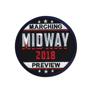 2018 Midway Marching Preview Event Patch