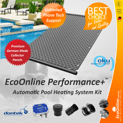 Premium Quality Brilliant Solar Pool Heater Systems