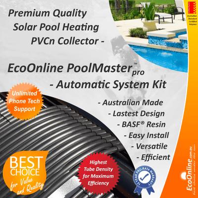 Premium Quality Brilliant Solar Pool Heater Systems
