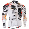 Fixgear cycling biking jersey skull printed shirt for men
