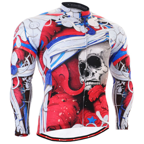 Fixgear skull design cycling jersey