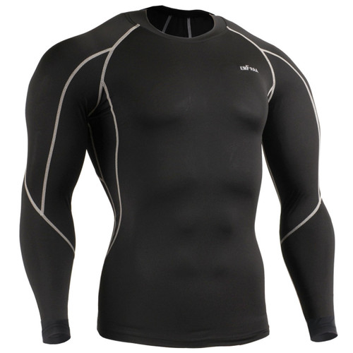 emfraa skin tight under base layer shirt black