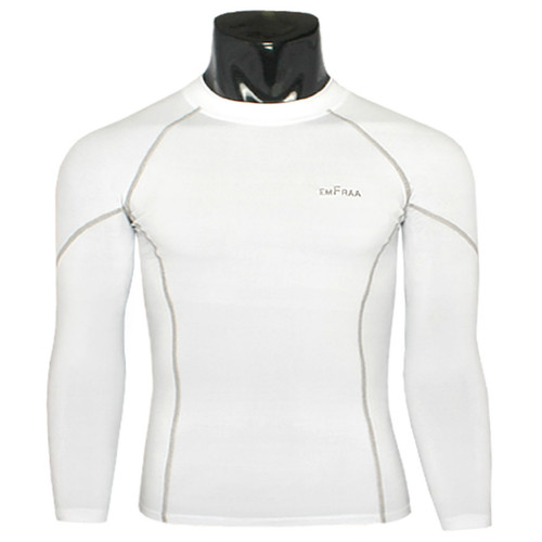 emfraa skin tight under base layer shirt white
