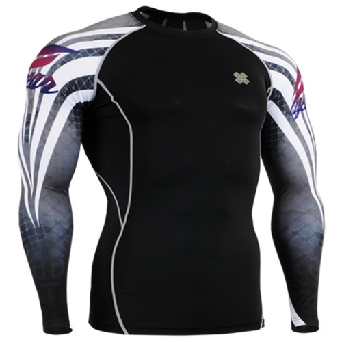 Under garments base layer black grey shirts