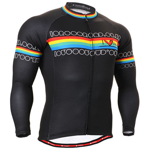 Fixgear thermal winter cycling jersey for men