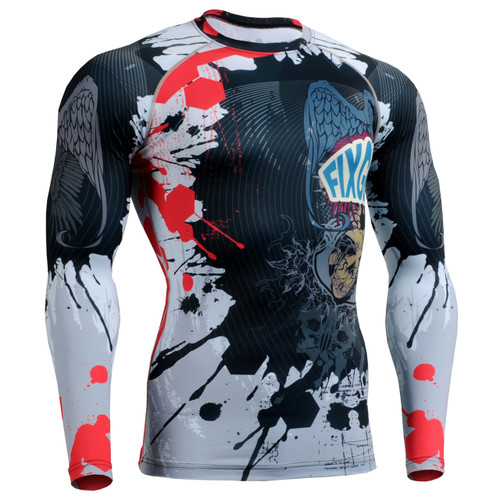 Fixgear MMA Running compression Long sleeve