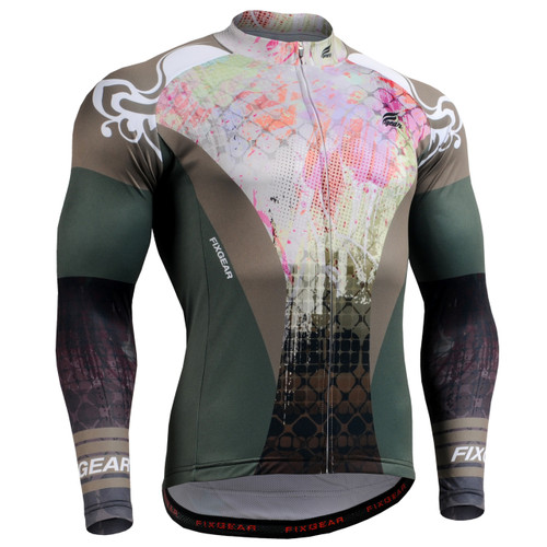 Fixgear Mens Cycling jerseys Longsleeve