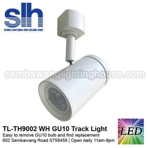 Tl th9002 white 6w gu10 led track light removable sembawang tl th9002 white 6w gu10 led track light removable aloadofball Gallery