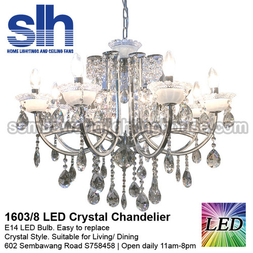 Shop for LED Crystal Chandelier in Singapore