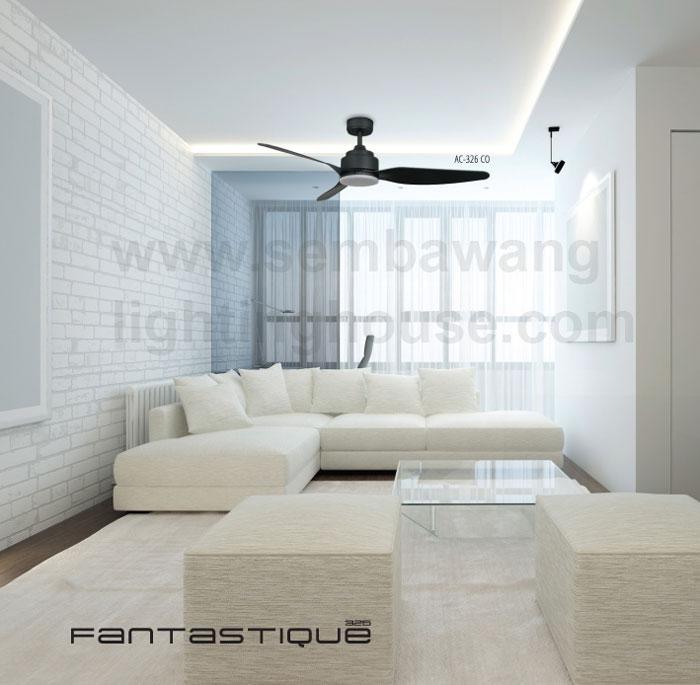 Acorn Ac 326 46 54 Led Designer Ceiling Fan White