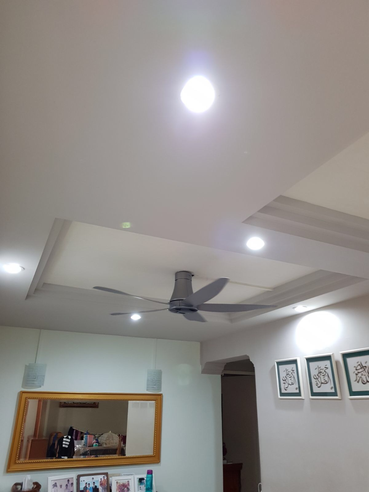 Kdk T60aw Dc 60 Ceiling Fan Grey Sembawang Lighting House Pte Ltd Wiring On Without Mount Light Moreover Install Sample 2