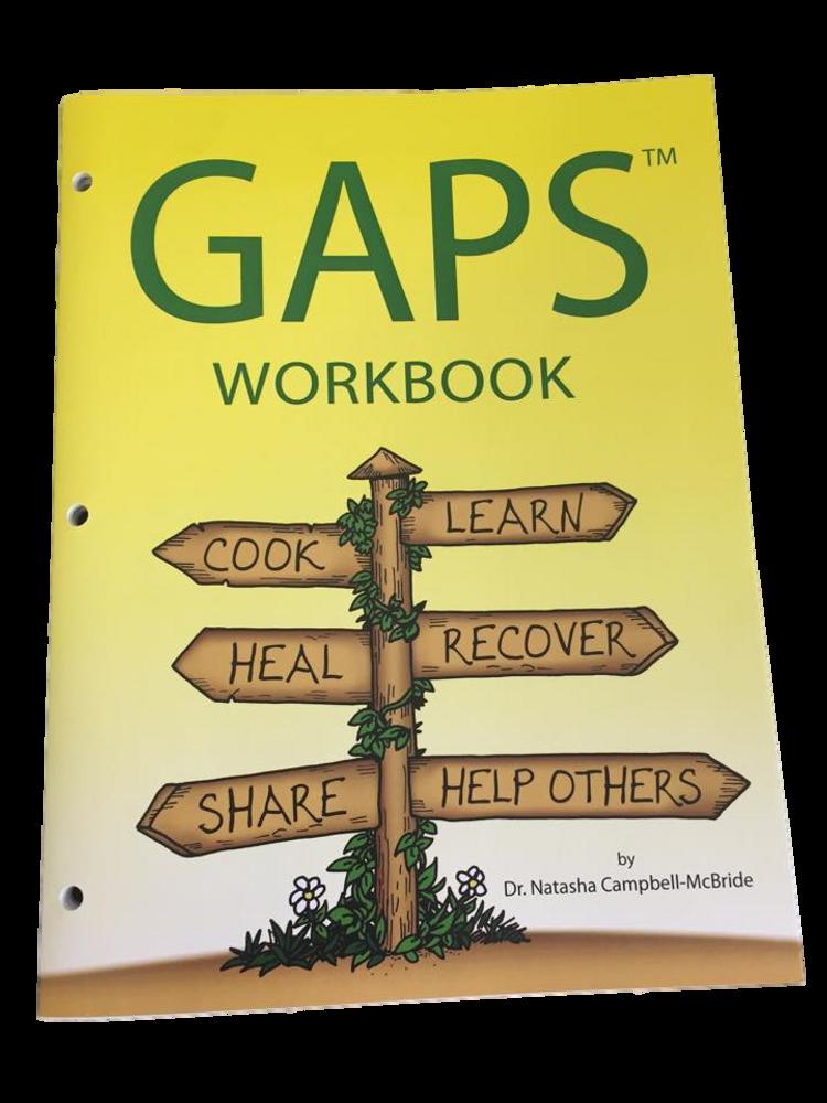 GAPS Workbook: for your GAPS journey