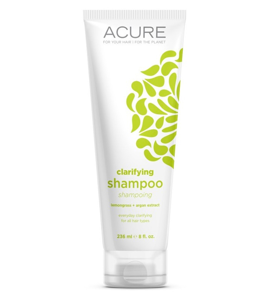 ACURE Clarifying Shampoo: Lemongrass & Argan Stem Cell 235ml