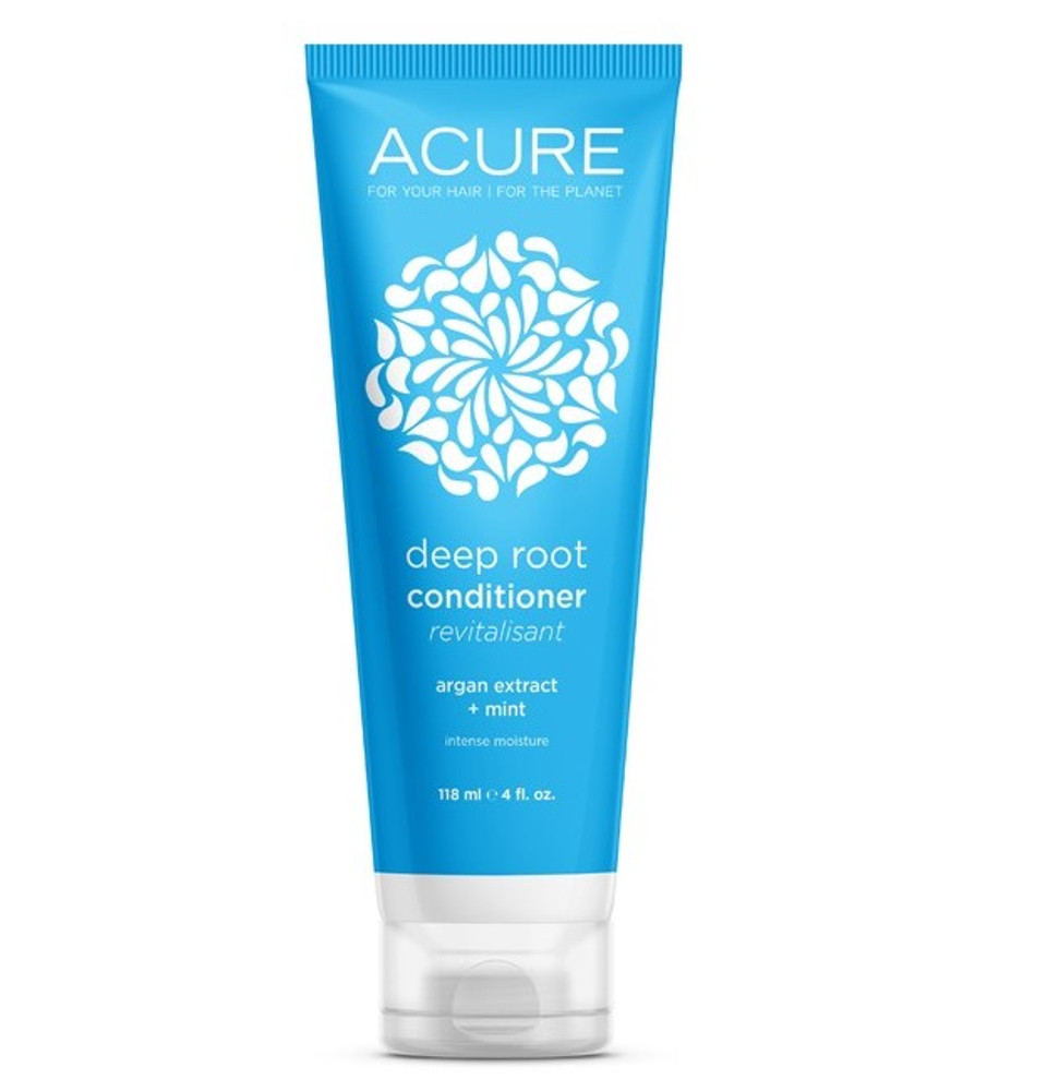 ACURE Deep Root Conditioner: Argan Stem Cell & Mint 118ml